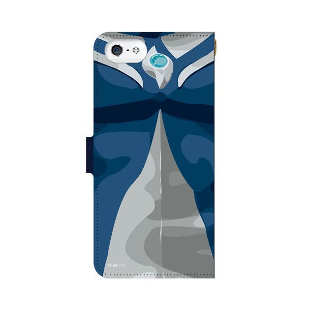 iPhone5s/5 ケース ウルトラマンコスモス 手帳型ケース iPhone 5s_0