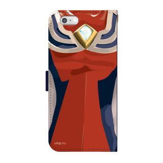 ウルトラマンジャスティス 手帳型ケース iPhone 5