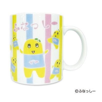 ふなっしー マグカップ(ボーダー)_0