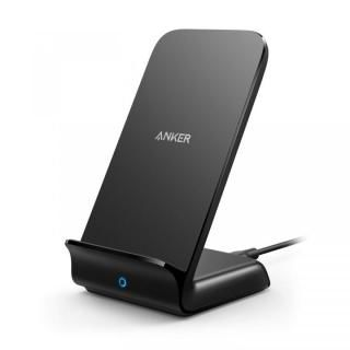 Anker PowerWave 7.5 スタンド型ワイヤレス充電器 ブラック【9月下旬】