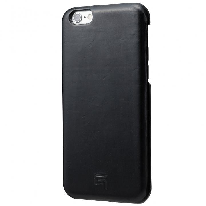 【iPhone6s/6ケース】GRAMAS ブライドルレザーケース ブラック iPhone 6s/6_0