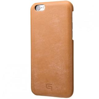 【iPhone6 ケース】GRAMAS ブライドルレザーケース タン iPhone 6s/6