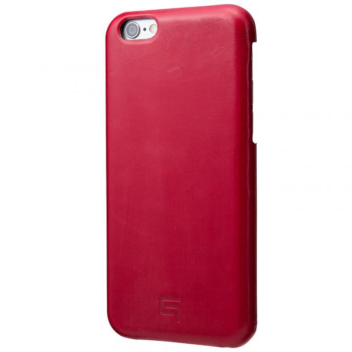 GRAMAS ブライドルレザーケース レッド iPhone 6s Plus/6 Plus