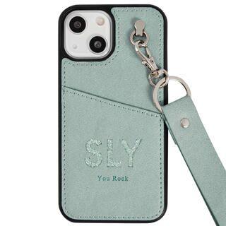 iPhone 13 mini (5.4インチ) ケース SLY Die cutting_Case blue iPhone 13 mini