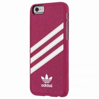 adidas スエード ハードケース ピンク/ホワイト iPhone 6s/6