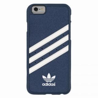 【iPhone6s/6ケース】adidas スエード ハードケース ブルー/ホワイト iPhone 6s/6_1