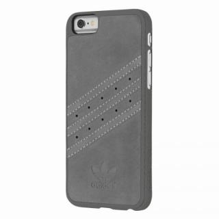 adidas スエード ハードケース グレイ iPhone 6s/6