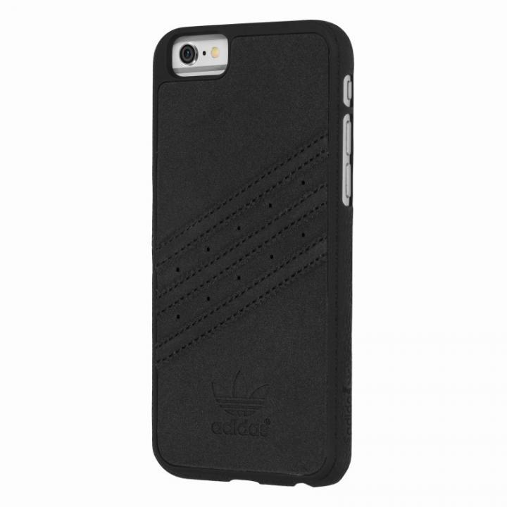 iPhone6s/6 ケース adidas スエード ハードケース ブラック iPhone 6s/6_0