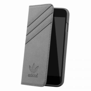 adidas スエード 手帳型ケース グレイ iPhone 6s/6