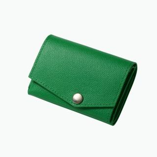 小さい財布 abrAsus(アブラサス) グリーン