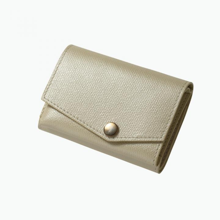 小さい財布 abrAsus(アブラサス) パールアイボリー_0
