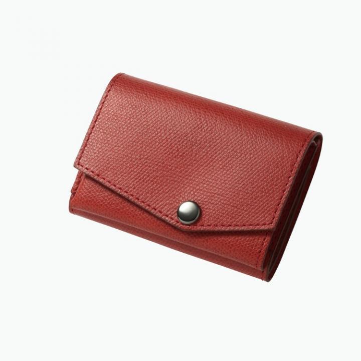 小さい財布 abrAsus(アブラサス) ボルドー_0