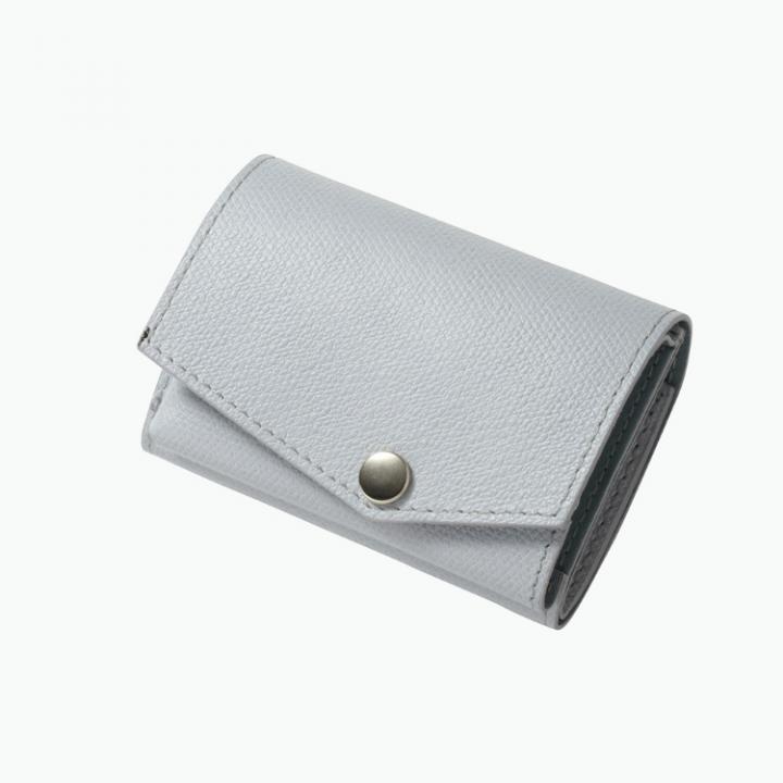 小さい財布 abrAsus(アブラサス) ライトグレー_0