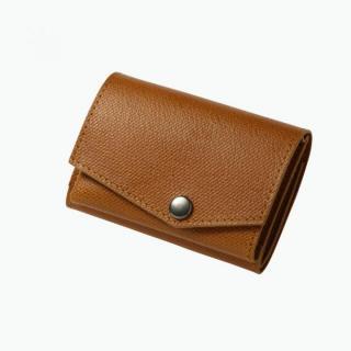 小さい財布 abrAsus(アブラサス) キャメル