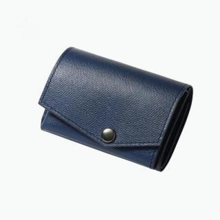 小さい財布 abrAsus(アブラサス) ネイビー
