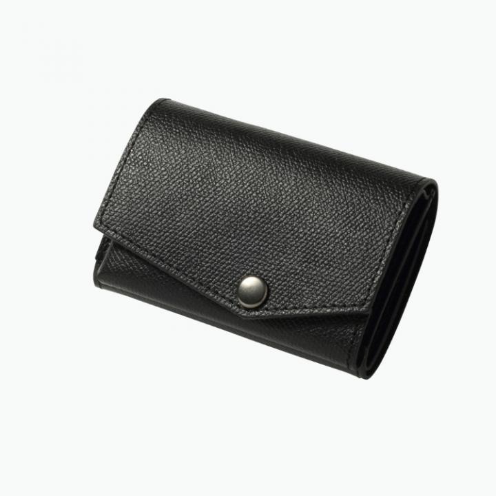 小さい財布 abrAsus(アブラサス) ブラック