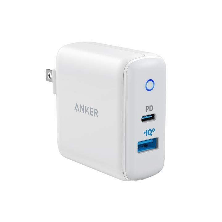 Anker PowerPort PD+2 20W PD対応急速充電器 ホワイト【10月上旬】_0