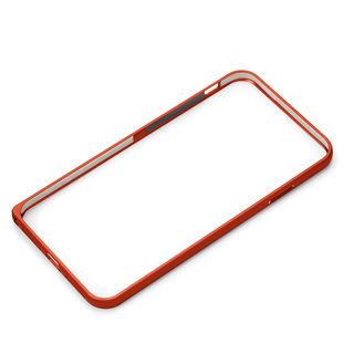 Premium Style アルミニウムバンパー レッド iPhone XR