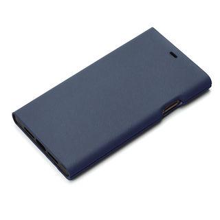 iPhone XR ケース Premium Style タフ手帳型ケース ブルー iPhone XR