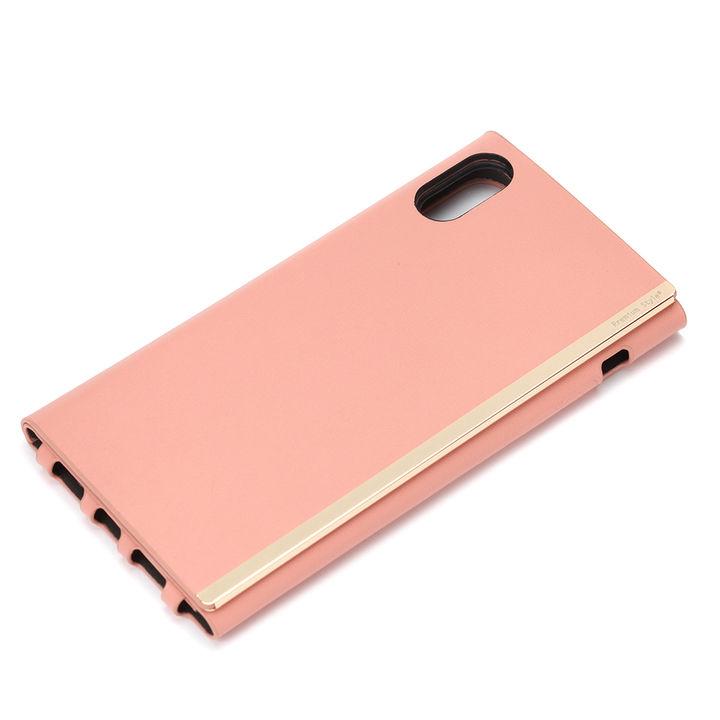 iPhone XR ケース Premium Style バック手帳型ケース ピンク iPhone XR_0