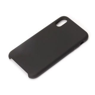 iPhone XS/X ケース Premium Style シリコンケース ブラック iPhone XS/X