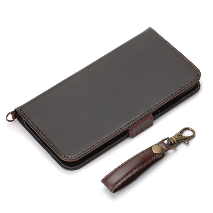 iPhone XR ケース Premium Style 手帳型ケース PUレザーダメージ加工 ブラック iPhone XR_0