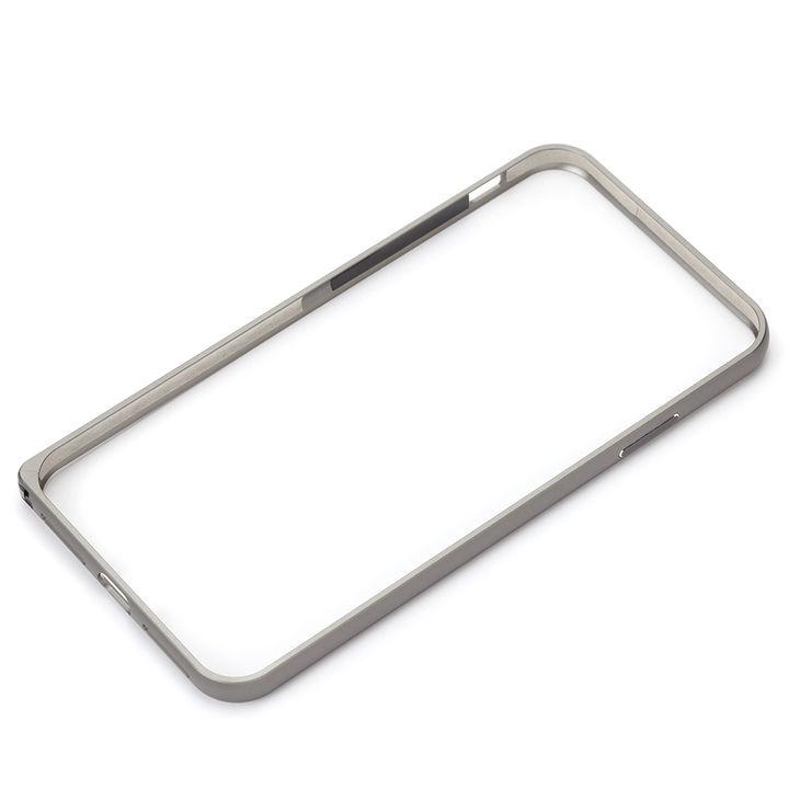 【iPhone XS Maxケース】Premium Style アルミニウムバンパー シルバー iPhone XS Max_0