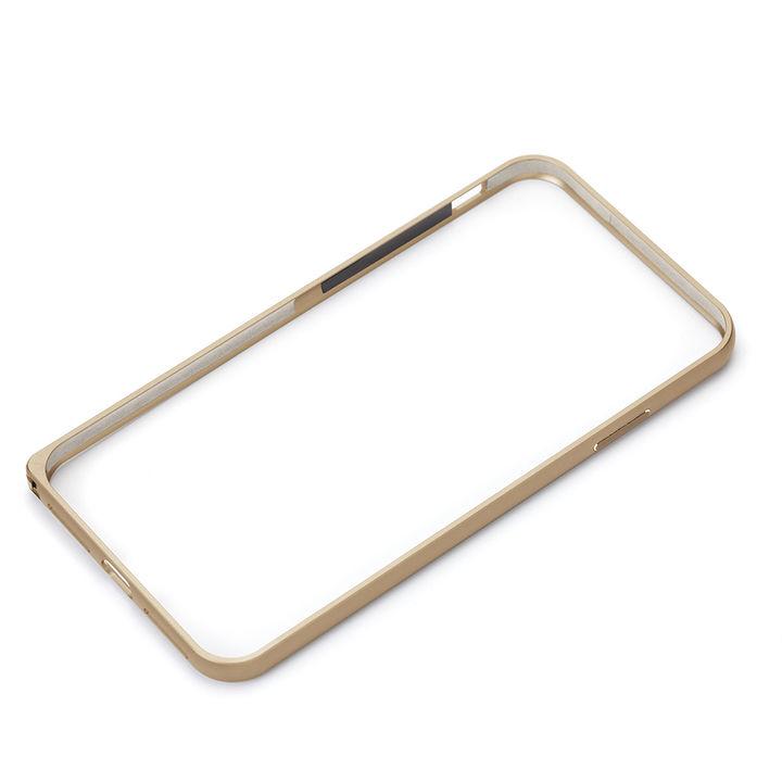 【iPhone XRケース】Premium Style アルミニウムバンパー ゴールド iPhone XR_0
