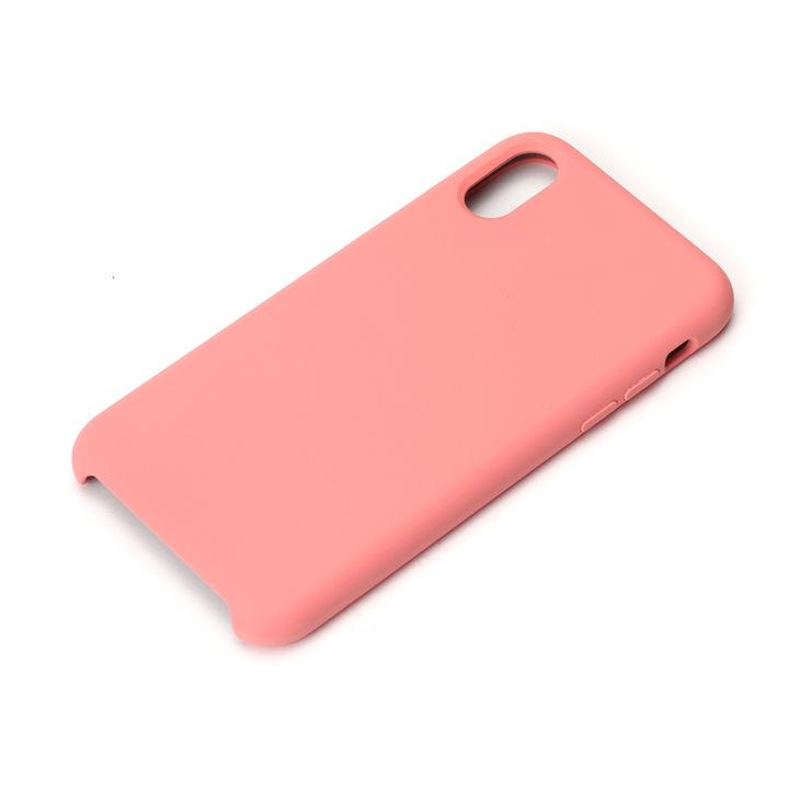iPhone XS/X ケース Premium Style シリコンケース ピンク iPhone XS/X_0