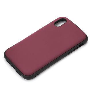 Premium Style ハイブリッドタフケース マットレッド iPhone XR