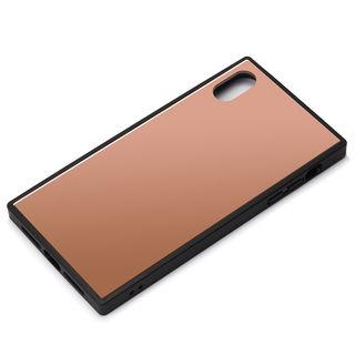 Premium Style ガラスハイブリッドケース ピンク iPhone XS Max【9月下旬】