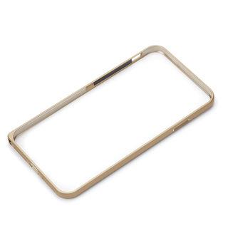 【iPhone XRケース】Premium Style アルミニウムバンパー ゴールド iPhone XR