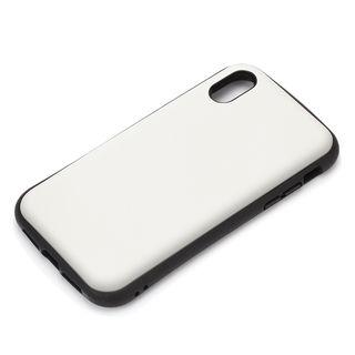 【iPhone XRケース】Premium Style ハイブリッドタフケース マットホワイト iPhone XR【10月上旬】