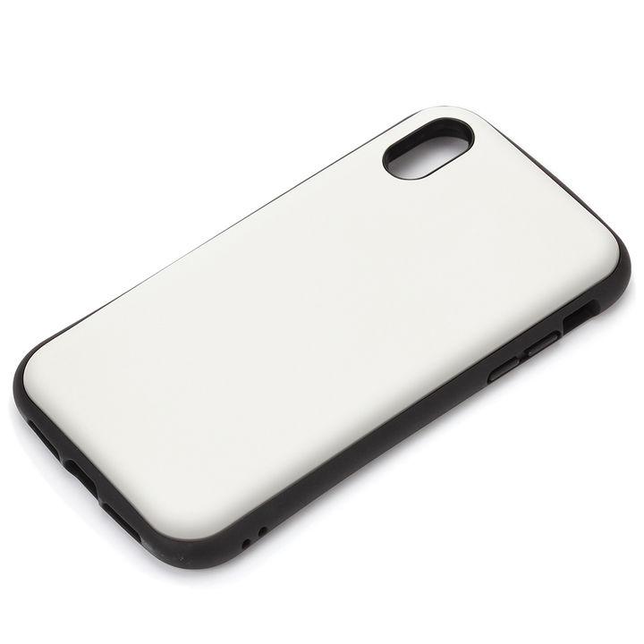 【iPhone XS Maxケース】Premium Style ハイブリッドタフケース マットホワイト iPhone XS Max_0