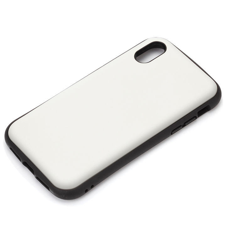 iPhone XS Max ケース Premium Style ハイブリッドタフケース マットホワイト iPhone XS Max_0