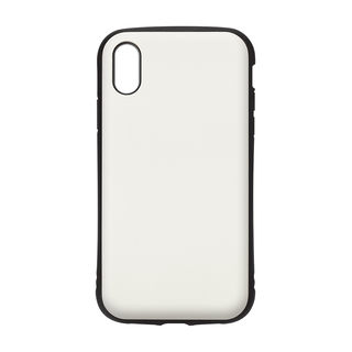 【iPhone XRケース】Premium Style ハイブリッドタフケース マットホワイト iPhone XR_1