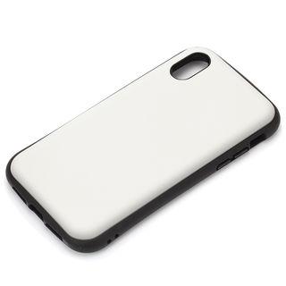 Premium Style ハイブリッドタフケース マットホワイト iPhone XS Max