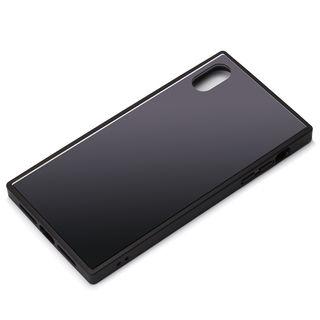 Premium Style ガラスハイブリッドケース ブラック iPhone XS Max【9月下旬】