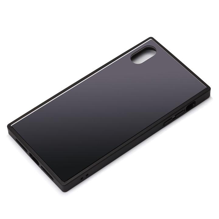 iPhone XR ケース Premium Style ガラスハイブリッドケース ブラック iPhone XR_0