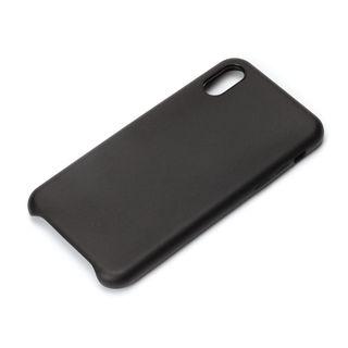 Premium Style PUレザーケース ブラック iPhone XS/X
