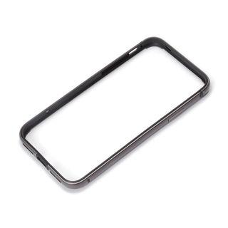 Premium Style アルミ+TPUハイブリッドバンパー ブラック iPhone XS/X