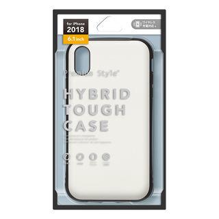 【iPhone XRケース】Premium Style ハイブリッドタフケース マットホワイト iPhone XR_2