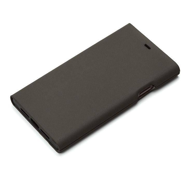 iPhone XR ケース Premium Style タフ手帳型ケース ブラック iPhone XR_0