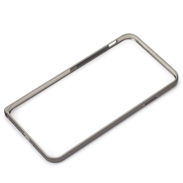 【iPhone XS Maxケース】Premium Style アルミニウムバンパー ブラック iPhone XS Max_0