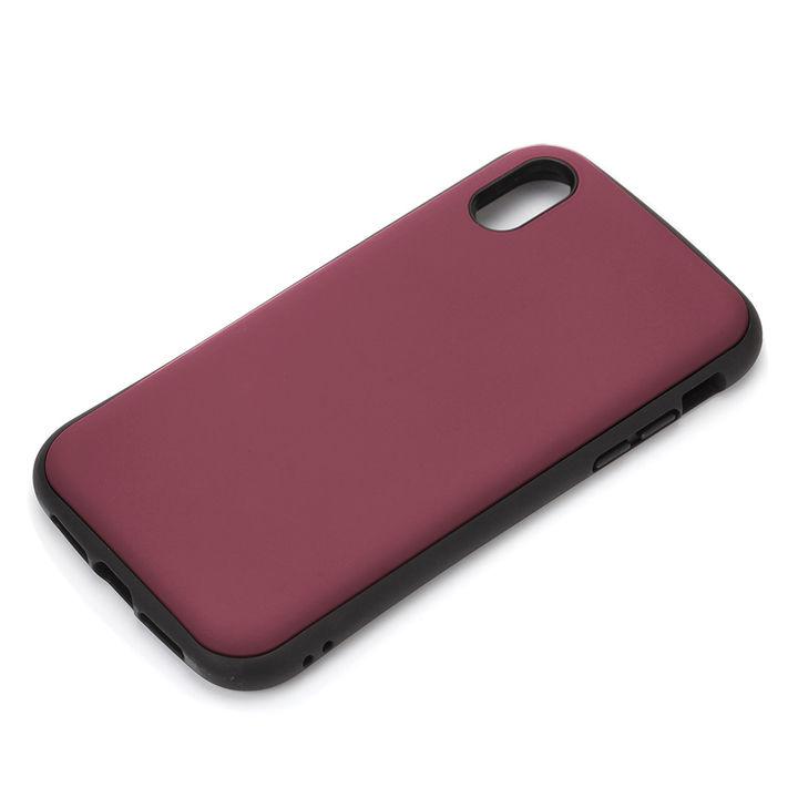 iPhone XR ケース Premium Style ハイブリッドタフケース マットレッド iPhone XR【8月下旬】_0