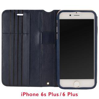 iPhone6s Plus/6 Plus ケース Su-Penホルダー付き 最薄 手帳型レザーケース ブルー  iPhone 6s Plus/6 Plus