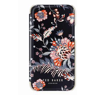 iPhone 13 ケース Ted Baker Folio Case 2021 Spiced Up Black Pale Gold iPhone 13
