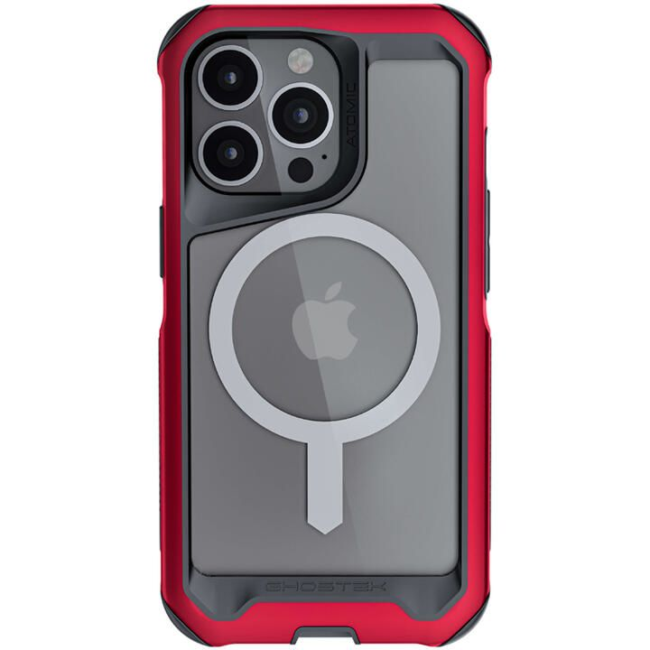 Ghostek ゴーステック アトミックスリム4 with MagSafe レッド iPhone 13 Pro Max【10月下旬】_0