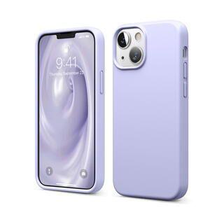 iPhone 13 mini (5.4インチ) ケース elago SILICONE CASE シリコンケース Purple iPhone 13 mini