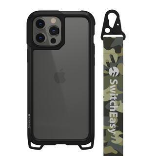 iPhone 13 Pro Max (6.7インチ) ケース SwitchEasy Odyssey 耐衝撃ケース Camo Green iPhone 13 Pro Max